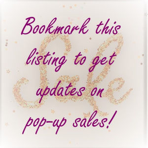 Other - Like this listing for upcoming sales!